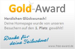 award platz 1
